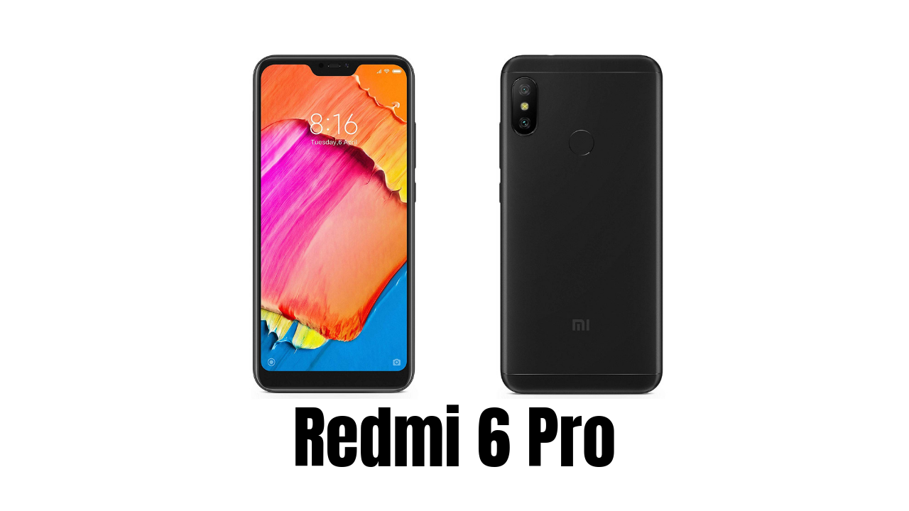 Photo of Redmi 6 Pro Price, Specification, Special Feature – TechFdz in Hindi