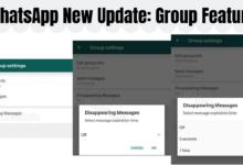 WhatsApp Self-Destructing Messaging Feature