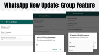 WhatsApp Self-Destructing Messaging Feature