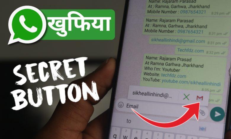 WhatsApp Secret Button