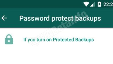Photo of WhatsApp New Beta for Android 2.20.66 : Password protect backups Kya hai