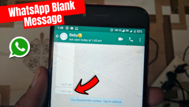 Photo of WhatsApp Par Blank Message Kaise Bheje