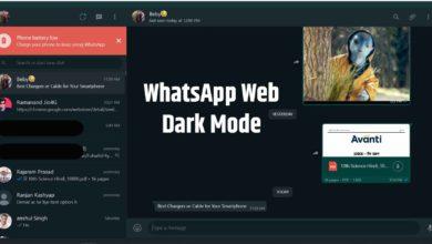 WhatsApp Web Dark Mode How To Enable Dark Mode on WhatsApp Web