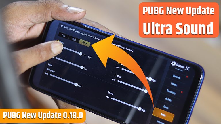 How to Enable PUBG Mobile New Update Ultrasound 0.18.0