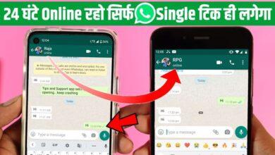 WhatsApp Only Single Tick